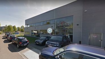 L'entreprise I-Care dans le Parc Initialis à Mons