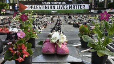 4500 paires de chaussures ont été installées
