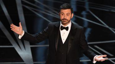 Jimmy Kimmel lors de la soirée de remise des Oscars 2017