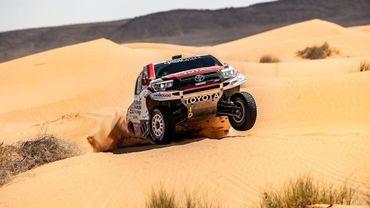 La Toyota de Nasser al-Attiyah