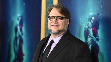 """Le réalisateur Guillermo del Toro est nommé à plusieurs reprises aux Oscars pour """"La Forme de l'eau""""."""
