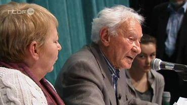 Le cinacien donnait beaucoup de conférences pour témoigner de son vécu de la deuxième guerre mondiale