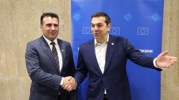 Le Premier ministre grec Alexis Tsipras annonce un accord sur le nom de la Macédoine