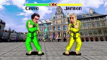 Politic fighter, les duels des élections: la bataille d'Anvers, Jambon (N-VA) affronte Calvo (Groen)