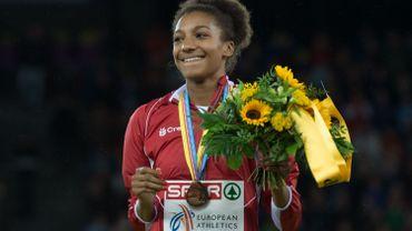 Thiam en bronze à l'heptathlon, Nana Djimou sacrée