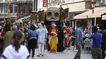 La Zinneke Parade devait fêter son 20e anniversaire le 16 mai dans les rues de Bruxelles