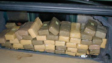 Verviers: quatre et cinq ans de prison pour les dirigeants d'un important trafic de cocaïne (photo d'illustration)