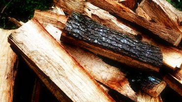 Du bois dans une chaufferie collective