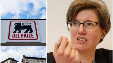 """Catherine Moureaux regrette le départ de Delhaize, """"un monument industriel de Molenbeek"""" présent depuis 1883"""