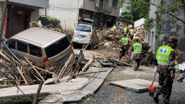 Chine: le bilan du typhon Lekima grimpe à 49 morts, 21 disparus