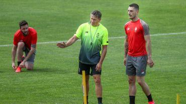 Le Standard de Liège a repris le chemin des entraînements mercredi matin à l'Académie Robert Louis-Dreyfus sous les directives du nouveau coach Philippe Montanier, après trois mois d'arrêt suite à la crise sanitaire du Covid-19.