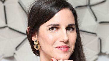 """Myriam Leroy fait partie de la sélection du Médicis, pour son roman """"Les yeux rouges""""."""