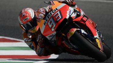 Marc Marquez devant aux premiers essais du Grand Prix d'Italie