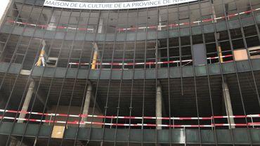 Namur: le désamiantage de la maison de la culture est terminé