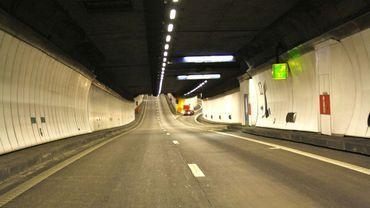 Le tunnel de Cointe est fermé jusqu'à 14 heures 30