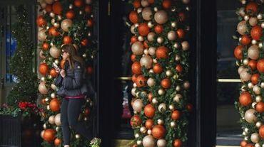 Photo prise le 22 décembre 2015 de l'hôtel Dorchester à Londres, qui appartient au sultan de Brunei, et contraste avec le petit Etat pétrolier où les décorations de Noël ont été interdites