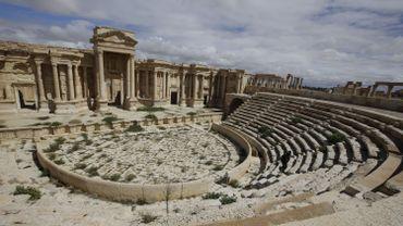 L'amphithéâtre de Palmyre
