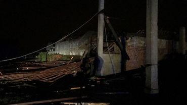 La ferme de Lenne à Hastière a été fortement endommagée par les vents violents dimanche soir.