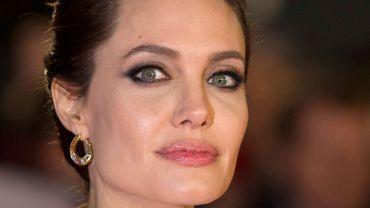 Angelina Jolie à la première d'Unbroken à Londres en novembre 2014.