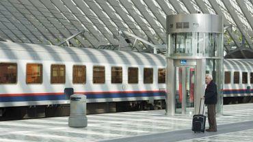 La ligne de chemin de fer 125 A, sur la rive droite de l'agglomération liégeoise, va-t-elle reprendre du service? (photo d'illustration)
