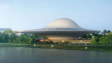 Le futur Museo Mazatlán, dans l'Etat de Sinaloa, au Mexique