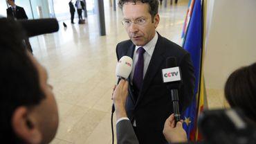 Le chef de file de la zone euro Jeroen Dijsselbloem