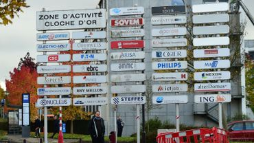 Zone industrielle au Luxembourg