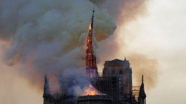Notre-Dame: le photographe belge à l'origine du cliché de la flèche qui s'effondre