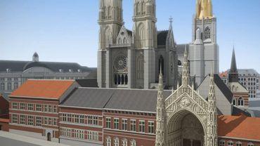 VIDEO - Reconstitution de la Cathédrale St Lambert