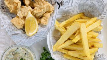 """Dans votre assiette ce soir: les vrais """"fish and chips"""" !"""