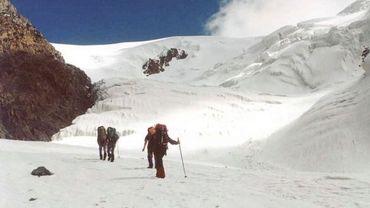 La chaîne des monts Altaï