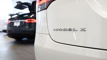 """C'est la deuxième fois que des """"Model X"""" font l'objet d'un rappel du constructeur pour cause de problèmes relatifs aux sièges arrière."""