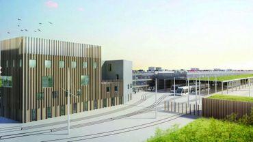 Le futur dépôt du futur tram: le déblocage du dossier se confirme.