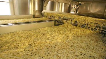 Les frites réfrigérées ont souffert de la fermeture des restaurants, la production ayant chuté de près de 20% en un an.