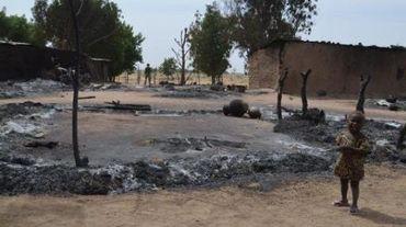 Un village dévasté par les hommes de Boko Haram