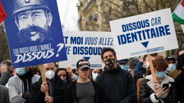 France: le groupe d'extrême droite anti-migrants Génération identitaire dissous