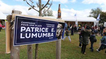 Une plaque commémorative pour Patrice Lumumba en vue à Ixelles