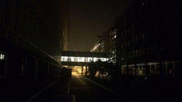 Une panne d'électricité a plongé dans le noir une partie de Bruxelles