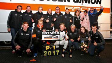 Benjamin Lessennes et le team Honda Boutsen Ginion Racing
