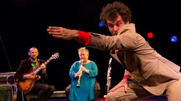 """Olivier Thomas,Laurent Rousseau et Catherine Delaunay dans """"Daisy Tambour"""""""