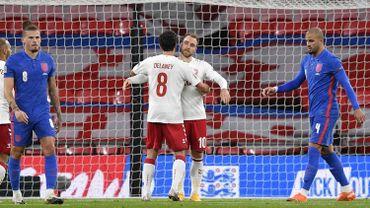 L'Angleterre s'incline contre le Danemark.
