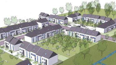 Farciennes se dotera bientôt d'un nouveau quartier: la Fontenelle
