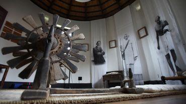 La chambre de méditation du Mahatma Gandhi, pendant son séjour en Afrique du Sud en 1908-1909.