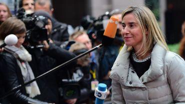 Cette mesure ne sera effective qu'à la condition que Téhéran remplisse ses obligations, a annoncé la chef de la diplomatie européenne, Federica Mogherini.