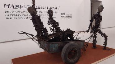 « Mabele Eleki Lola ! », les sculptures monumentales de Freddy Tsimba au Musée royal de l'Afrique centrale