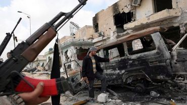 Destructions à Misrata