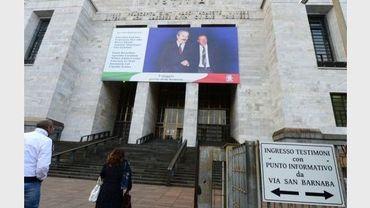 L'entrée du tribunal de Milan, le 19 octobre 2012