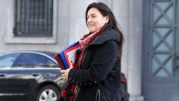 La ministre fédérale de l'Energie et de l'Environnement Marie-Christine Marghem