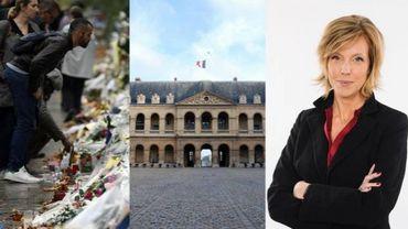 Cérémonie d'hommage aux victimes des attentats de Paris en direct sur La Une