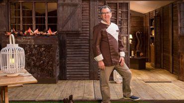 Jean-Luc Decluzeau a construit un cottage tout en chocolat
